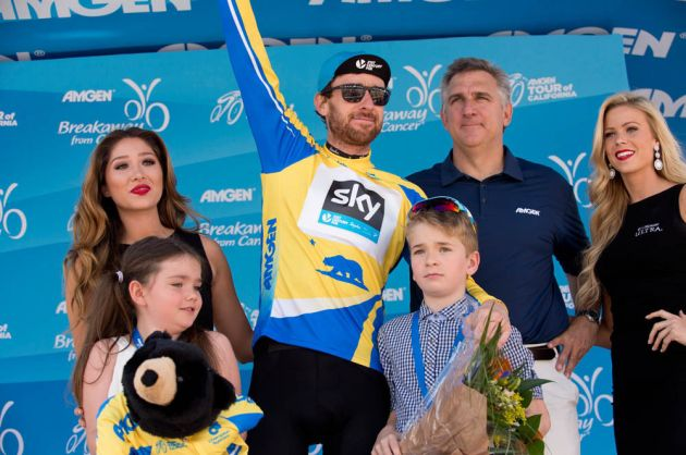 Bradley Wiggins, Amgen Tour of California, Stage 8