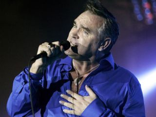 Moz is on the mend after onstage collapse