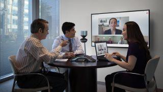 Polycom videoconferencing