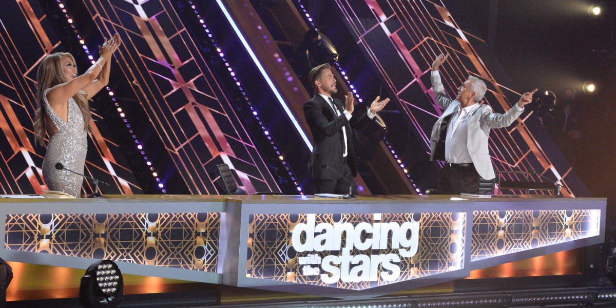 Dancing with the Stars Carrie Ann Inaba Derek Hough Bruno Tonioli ABC