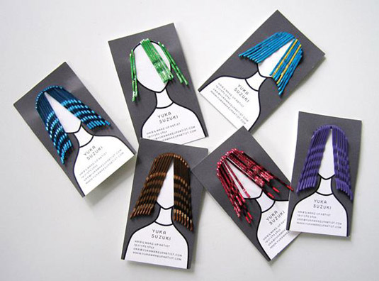 Business cards: Yuka Suzuki
