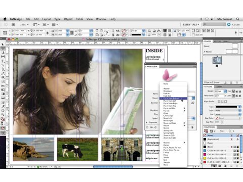 What's new in InDesign CS5