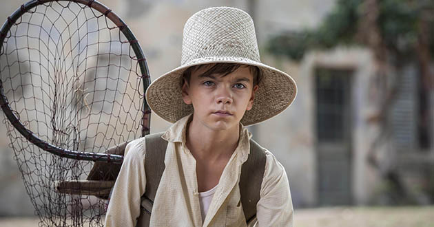 The Durrells star Milo Parker: 'I have the odd strop!'