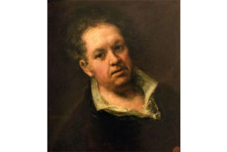 A self portrait of Francisco Goya