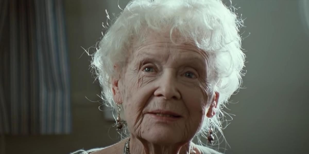 Elderly Rose in Titanic.