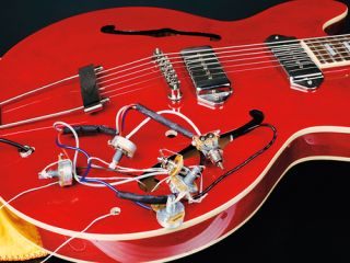 how to change the pickups on a gibson es 335 style guitar musicradar ES- 335