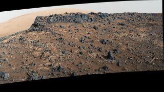 Nasa's Curiosity rover is exploring a 'Garden City' on Mars