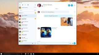 Skype universal app