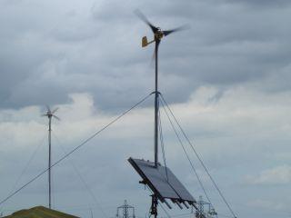 So when the British summer fails - the British wind kicks in...