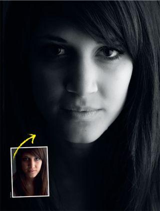 Create dramatic mono portraits with Photoshop
