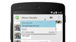 Android KitKat messages