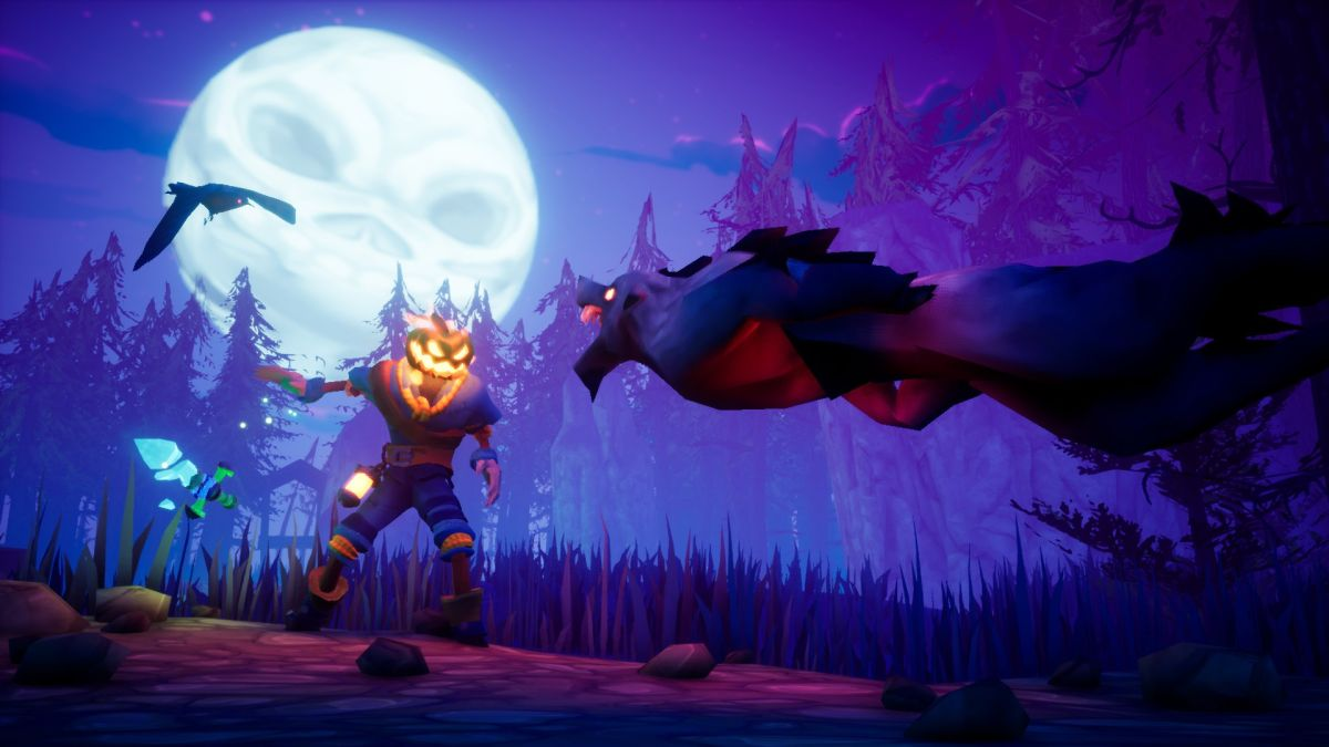 Can't wait for Halloween? Neither can this spooky, MediEvil-inspired 3D platformer