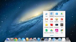 Chrome app launcher on Mac