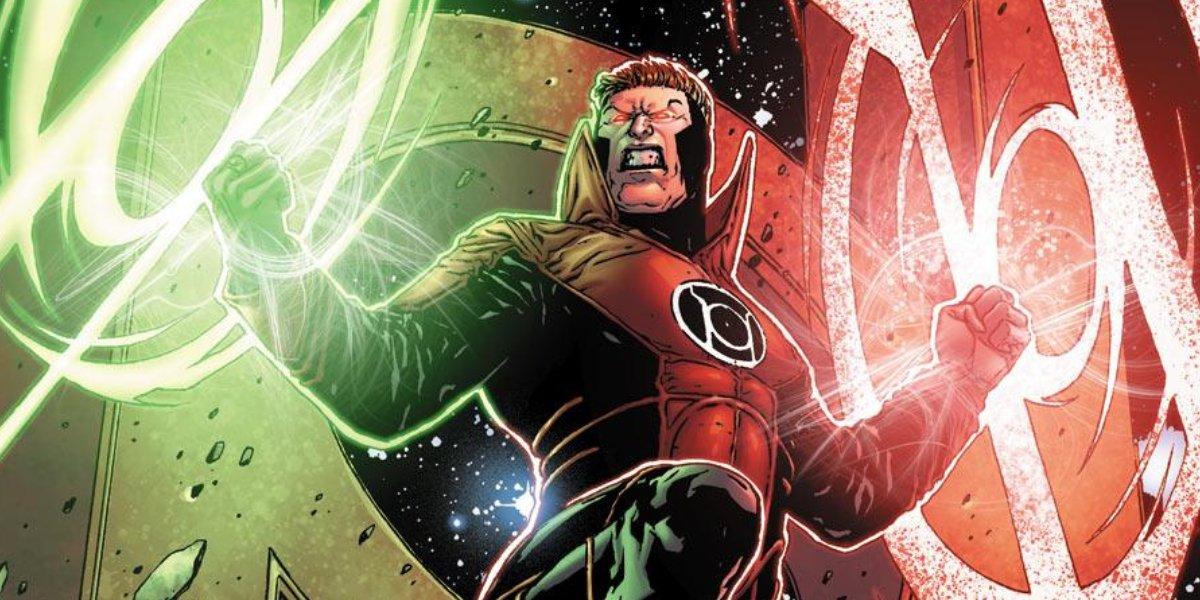 Red Lantern Guy Gardner