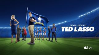 Apple TV+: US actor Jason Sudeikis posing as TV character Ted Lasso