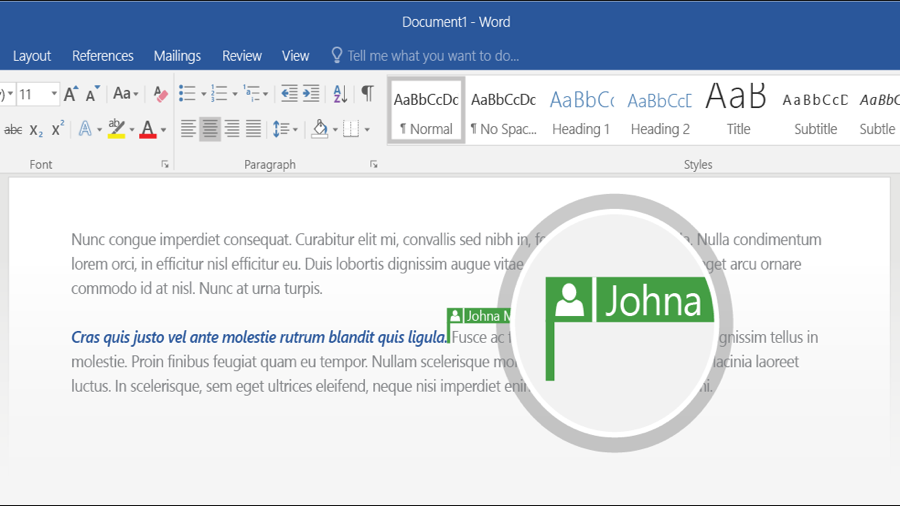 Office 2016 Now Includes Co Authoring For Onedrive Techradar