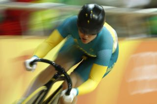 Australias Anna Meares competes in the Womens sprint qualifying track cycling event at the Velodrome during the Rio 2016 Olympic Games in Rio de Janeiro on August 14 2016 AFP Odd ANDERSEN Photo credit should read ODD ANDERSENAFP via Getty Images