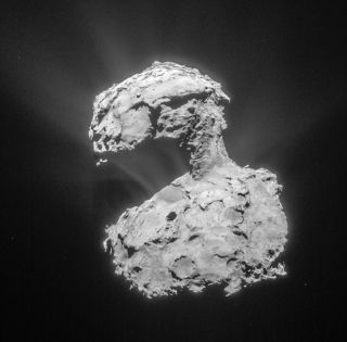 Comet 67P/Churyumov-Gerasimenko March 14, 2015