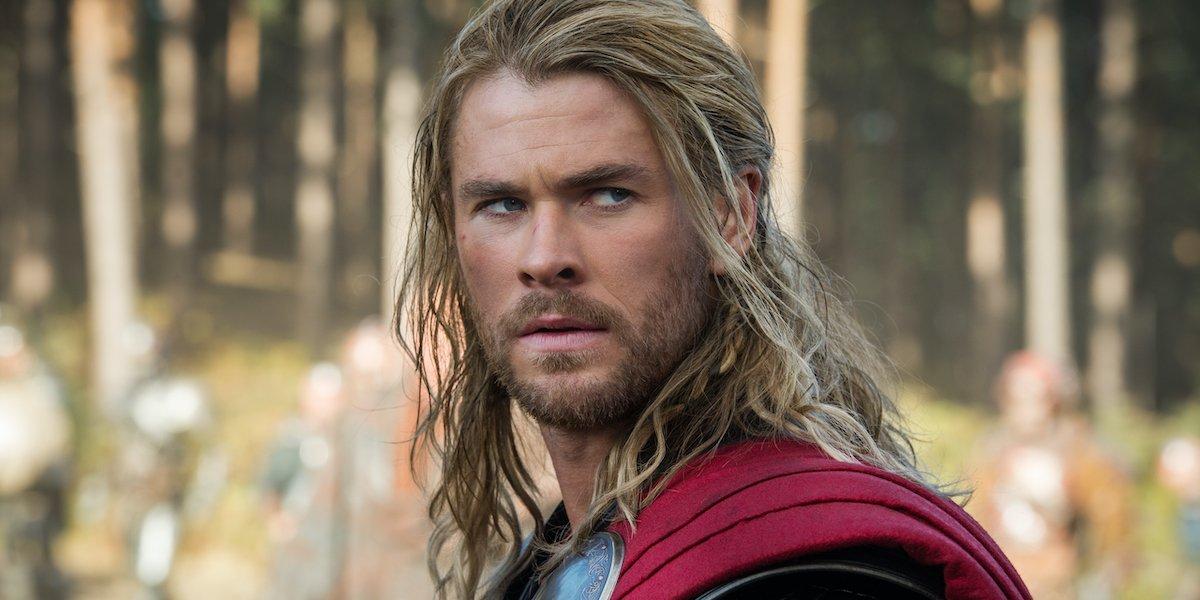 Chris Hemsworth as Thor in Dark World