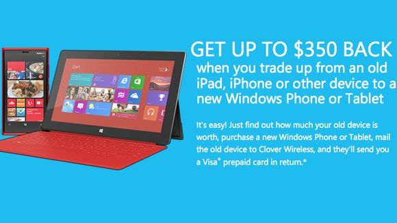 Microsoft now wants your iPhone, Android devices for trade-in program