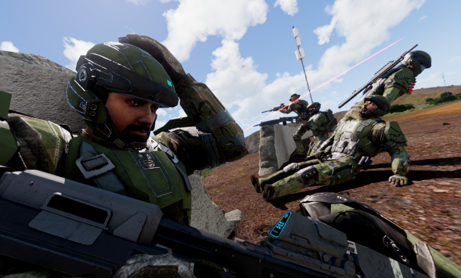 Operation: Trebuchet, a Halo mod for Arma 3, has an impressive new