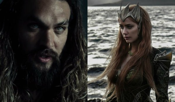 Jason Momoa Amber Heard Aquaman Mera Justice League