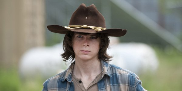 Carl Chandler Riggs The Walking Dead AMC