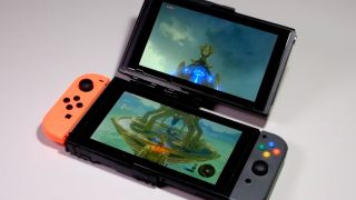 Un hack de la Nintendo Switch con dos pantallas