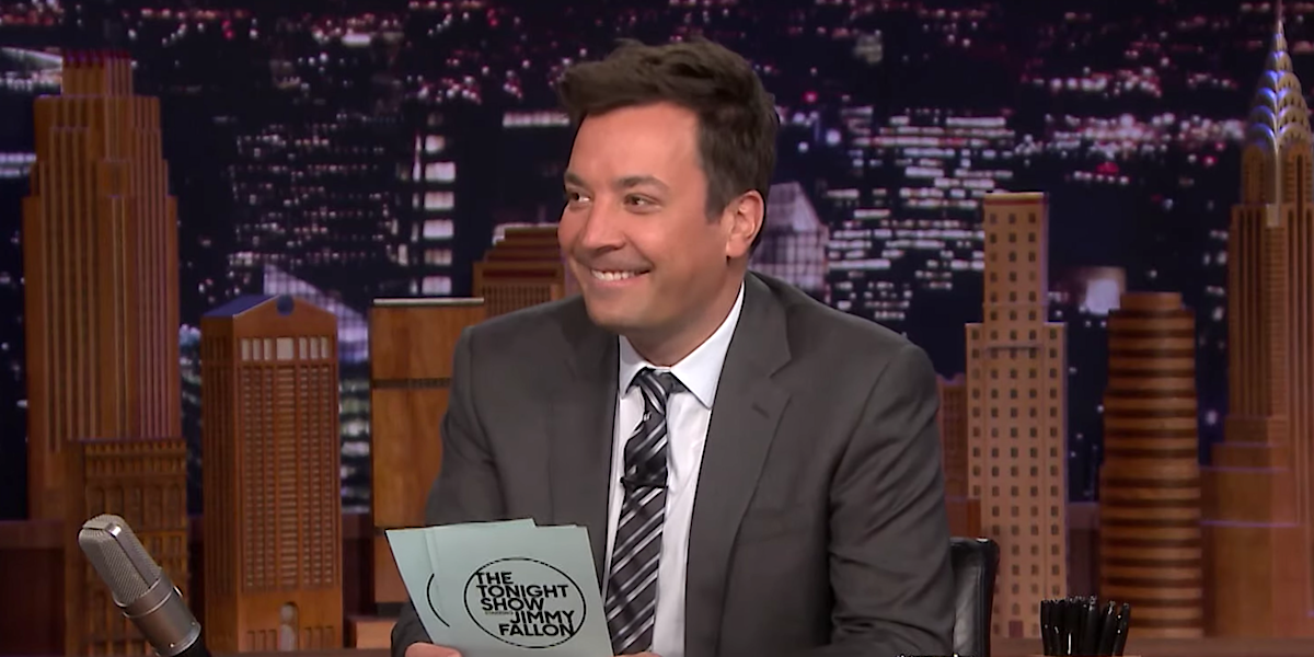 jimmy fallon smiling the tonight show
