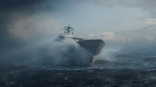 Battlefield 2042 ship stuck in a storm at sea