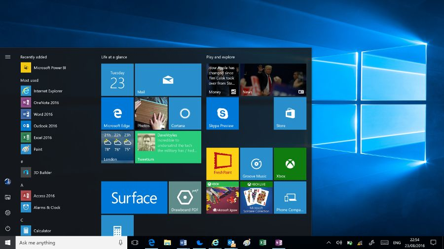 Leaked Windows 10 update sees a new look for the OS