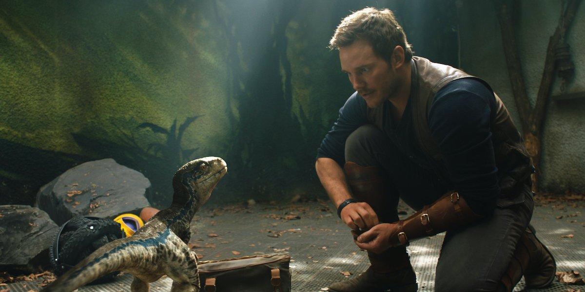 Chris Pratt in Jurassic World: Fallen Kingdom's flashback