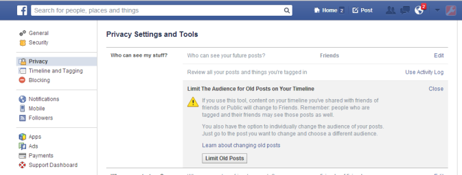 How to Lock Down Your Facebook Privacy Settings   Laptop Mag