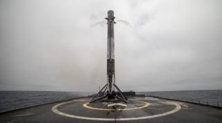 Falcon 9 first stage booster