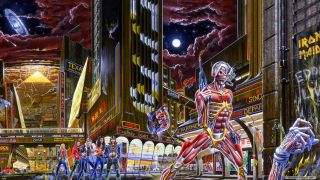 Iron Maiden's Somewhere In Time artwork dissected