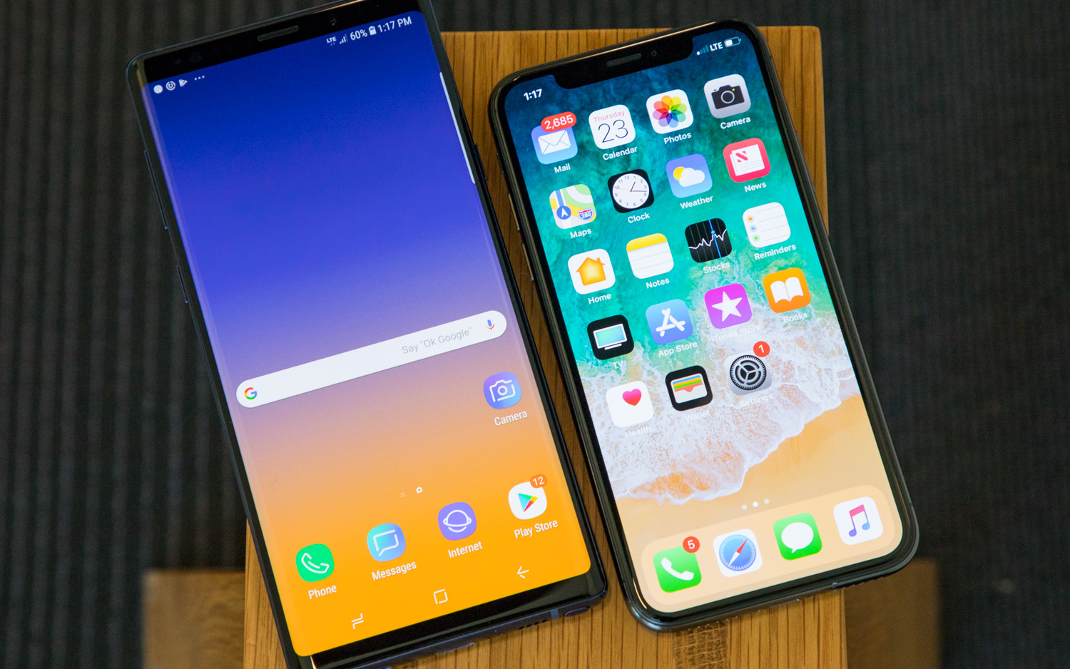 Galaxy Note 9 vs  iPhone X: Which Flagship Rules?   Tom's Guide