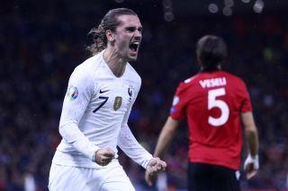 Antoine Griezmann Stars As France Beat Albania Fourfourtwo