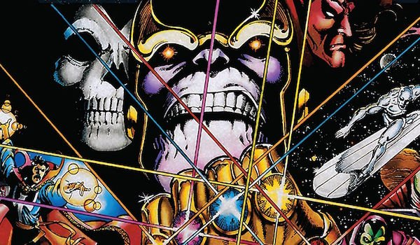 The Infinity Gauntlet comic