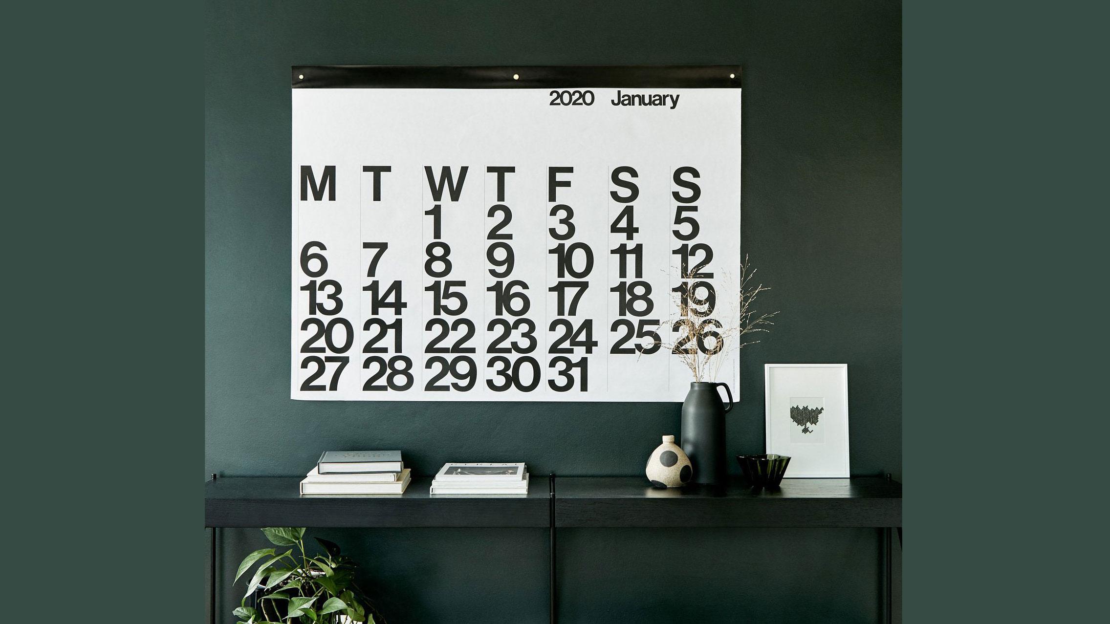 Calendar 2020 The Best Wall Calendars And Desktop Calendars For