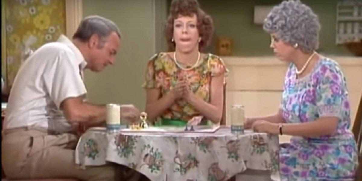 Carol Burnett, Harvey Korman , and Vicki Lawrence in The Family Carol Burnett Show Skit