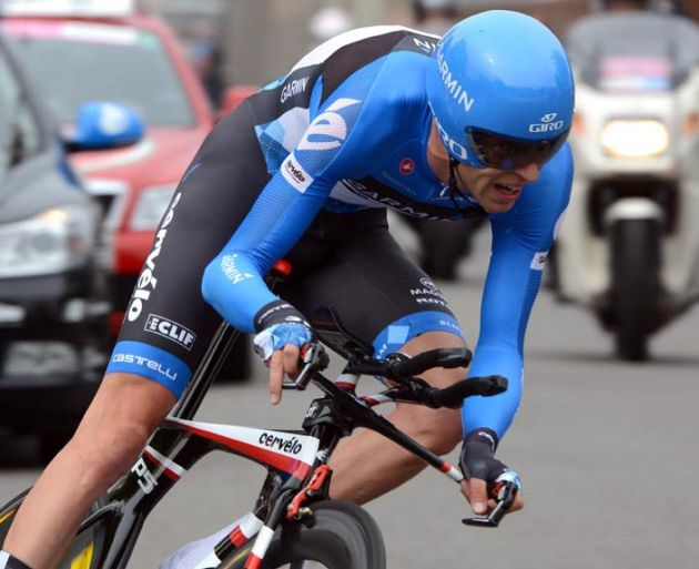 Ryder Hesjedal, Giro d'Italia 2012, stage 21