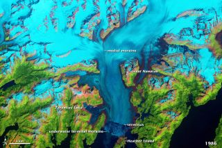 alaska Columbia glacier images, what glaciers are in alaska, climate change in alaska, melting glaciers in alaska, global warming effects photos