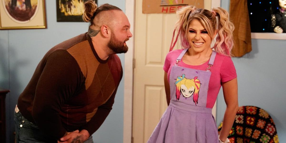Bray Wyatt and Alexa Bills on Raw