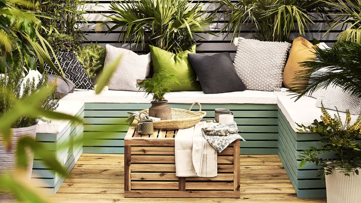 small garden decking ideas  11 clever ways to stretch your space