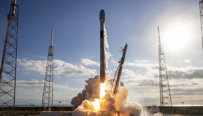 SpaceX Set to Launch Rocket Carrying Starlink 5 Mission from Kennedy Space Center