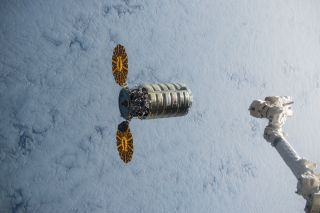 Cygnus Spacecraft Leaves International Space Station
