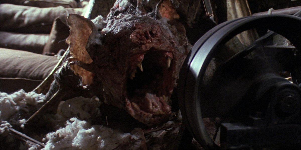 Graveyard Shift bat monster