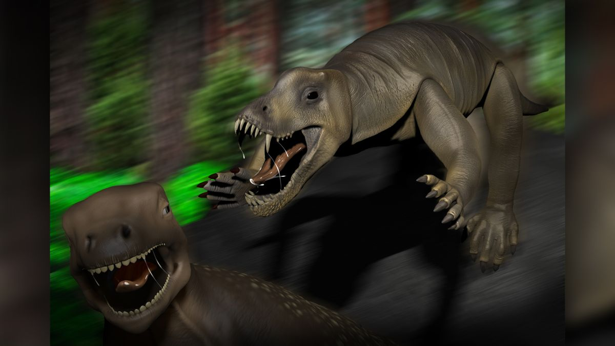 Ancient hippo-size reptile was a quick and ferocious killing machine