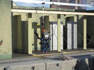 Team Schaft door task - DARPA Robotics Challenge