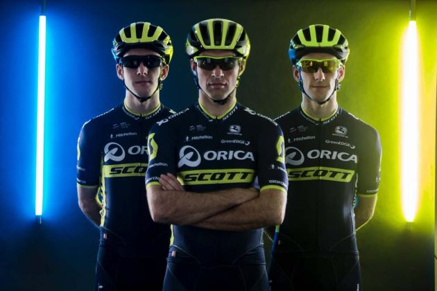 9c877aaa9 Orica-BikeExchange changes name to Orica-Scott for 2017 - Cycling Weekly